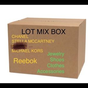 Mixed lots box of various brands for women